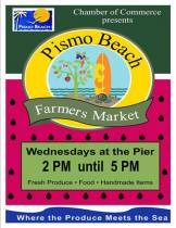 Pismo Beach Farmers Market is Fun in the Sun