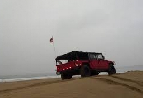 PISMO BEACH HUMMER INVASION - PISMO BEACH